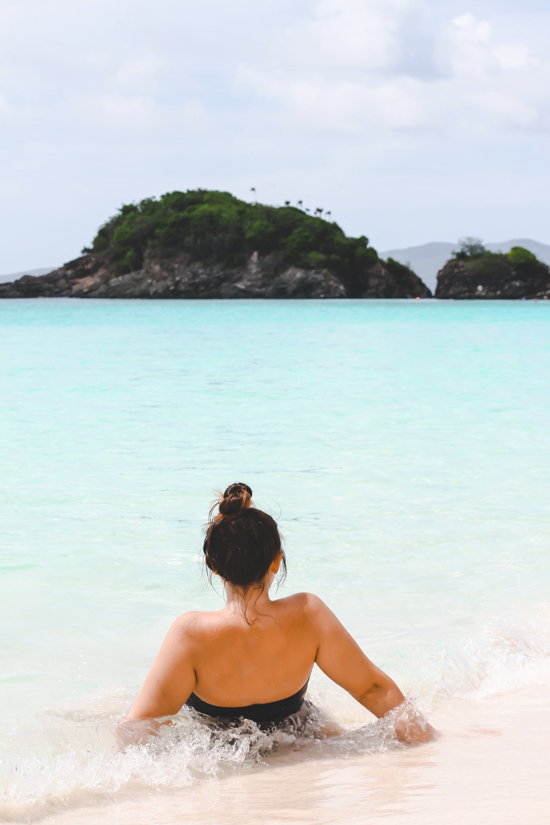 View from Trunk Bay, St John