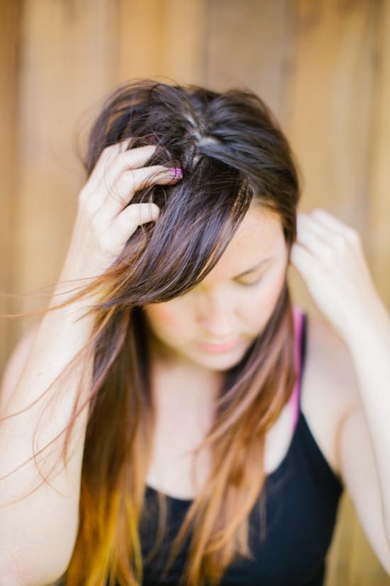 Hand in Hair