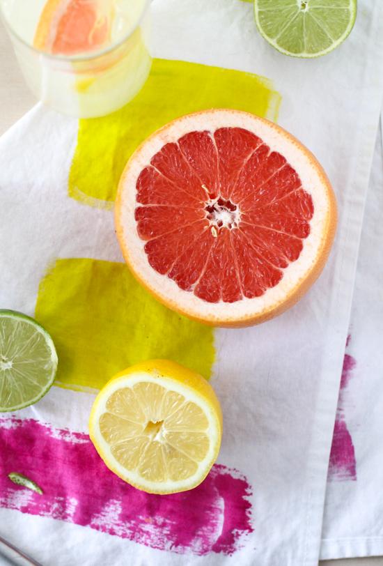 Grapefruit, Lemon, and Lime
