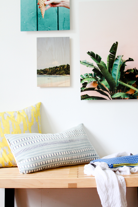 Make wall art with your own photos