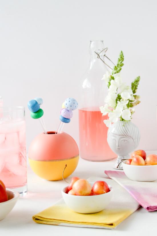 DIY Drink Stirrers for Summer Parties