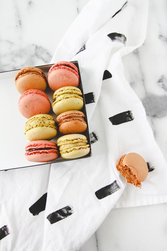 Macarons for Dessert