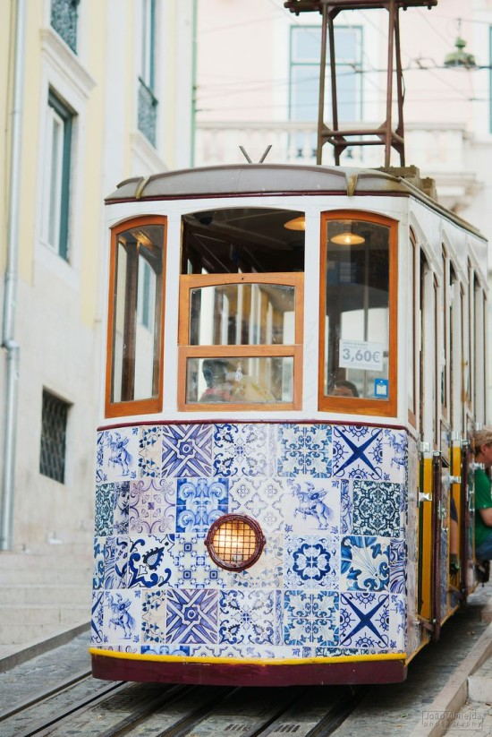 A Trolley Car in Portugal