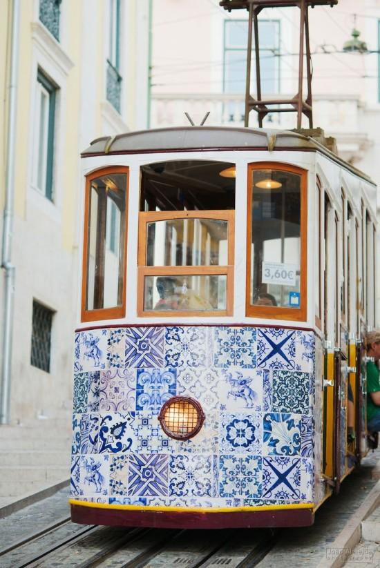 A Trolley Car in Portugal
