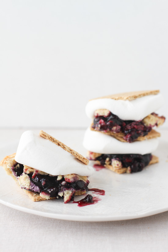 Blueberry Pie S'mores