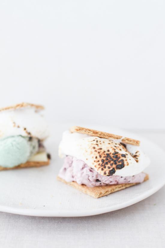 S'more Ice Cream Sandwiches