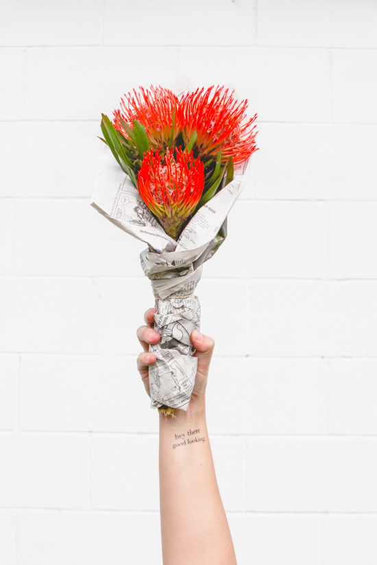 DIY // The 30 Second Bouquet