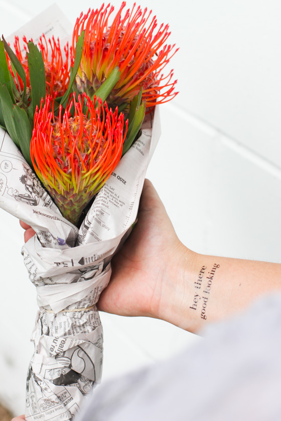 The Quickest DIY Bouquet You Will Ever Make