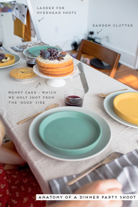 Anatomy of a Dinner Party Shoot