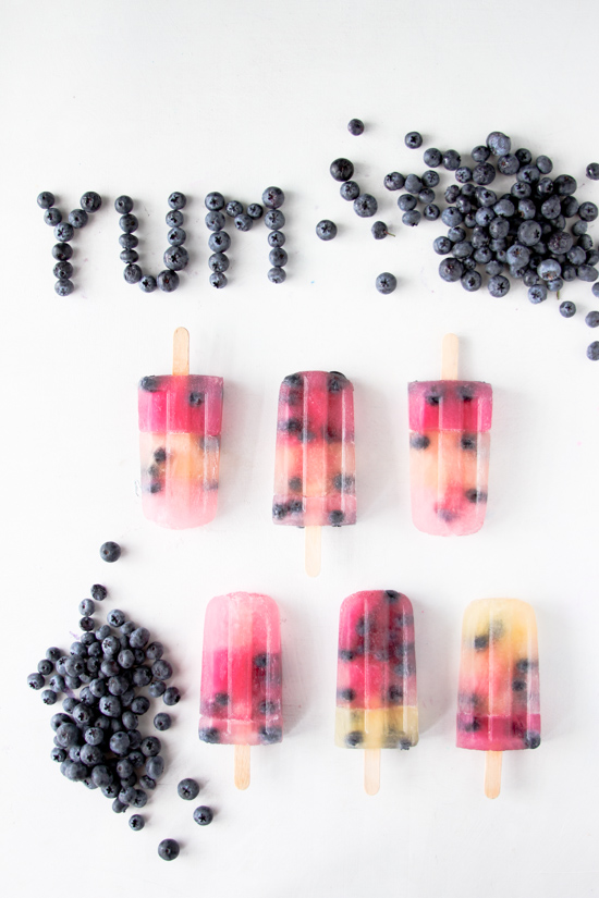 Blueberry Popsicles Recipe