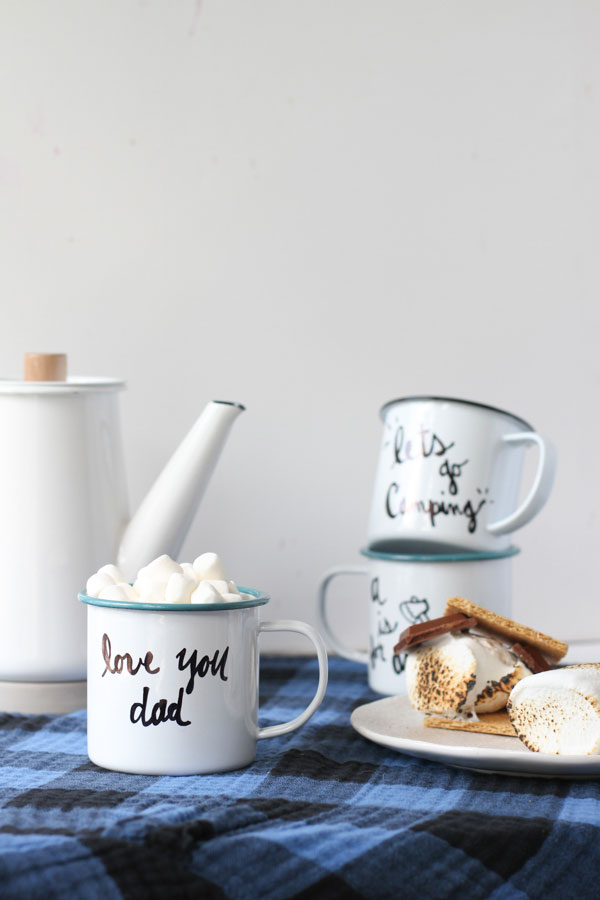 diy-c&ing-mugs-for-dad-optimized2 & Make This: DIY Enamel Camp Mugs for Fall - Paper and Stitch