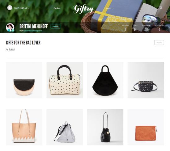 Gift Ideas for Bag Lovers
