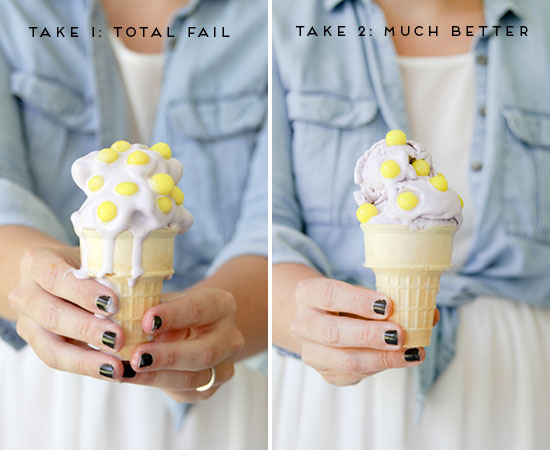 Behind the Scenes // Tips for Photographing Ice Cream