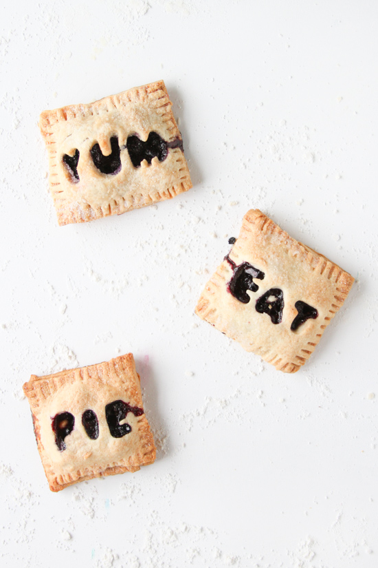 Mini Blueberry Hand Pies (Limited Ingredient Recipe)