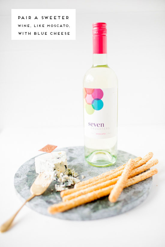 Moscato + Blue Cheese