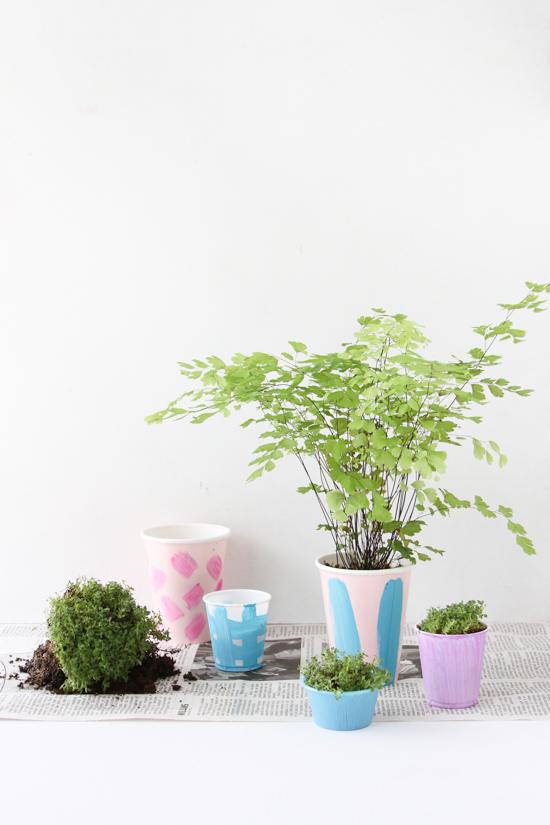 Easiest Indoor Herb Garden DIY Idea
