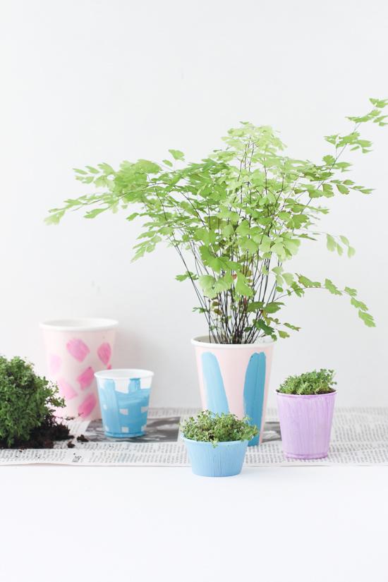 Easiest DIY Indoor Herb Garden