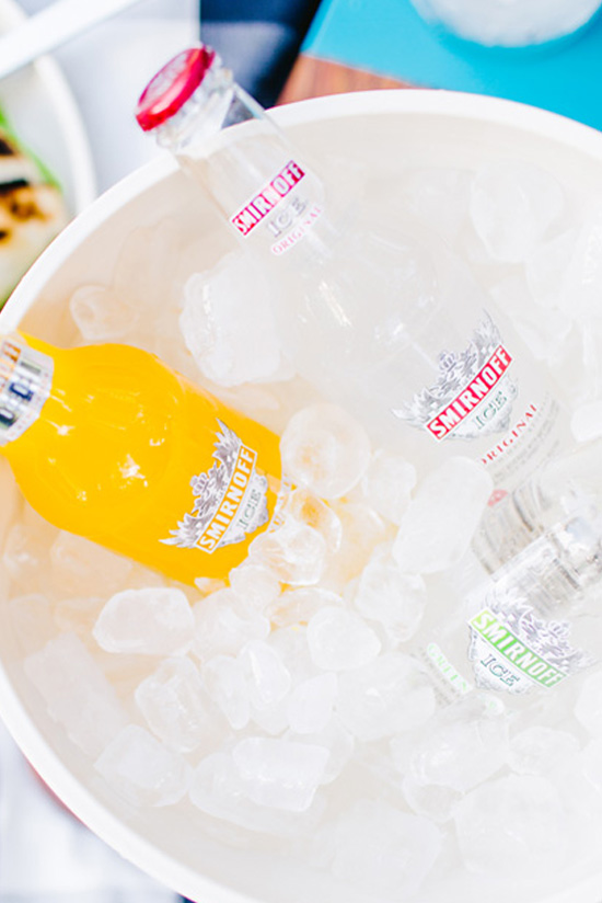 Tailgating in the Park with Smirnoff ICE