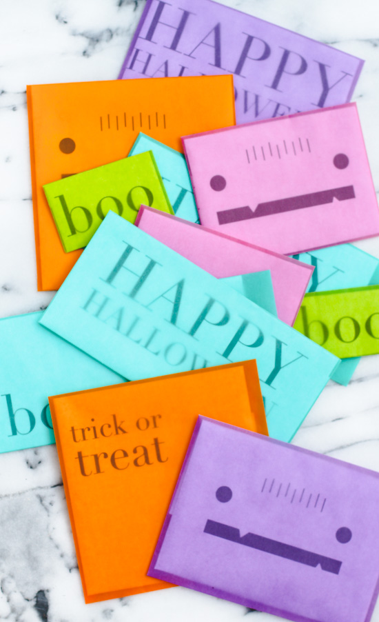 DIY Printable Idea // Halloween Snail Mail
