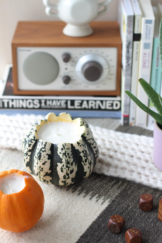DIY Pumpkin Scented Soy Candles