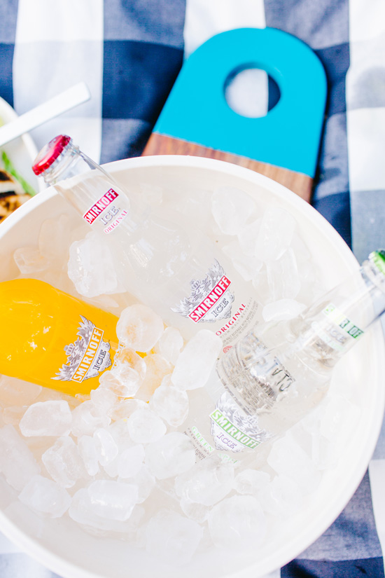 A DIY Tailgating Picnic with Smirnoff ICE