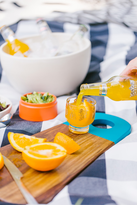 Tailgating in the Park // Drink Recipes
