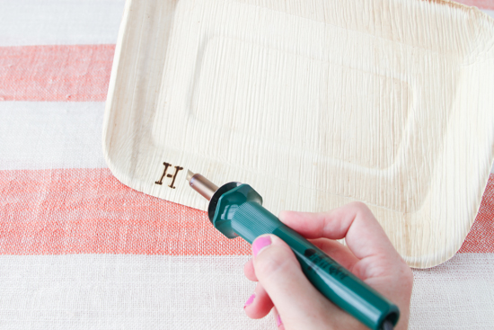 DIY // Wood Burned Food Trays