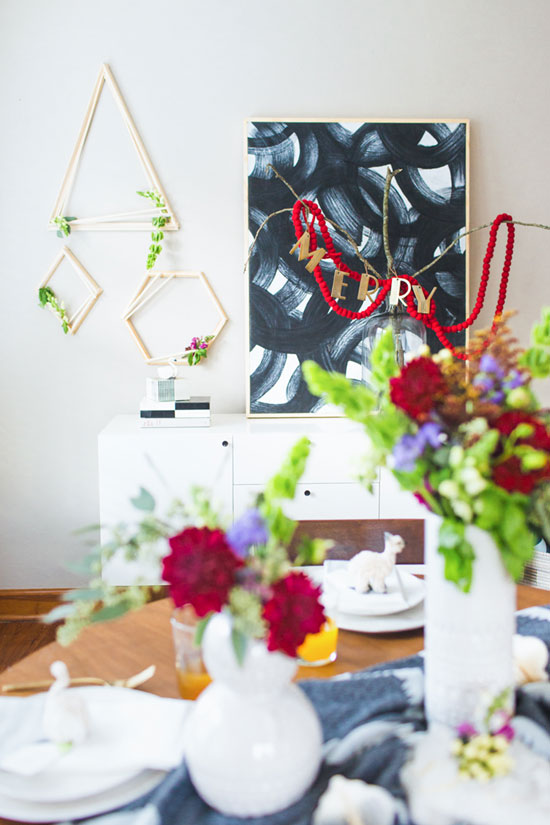 DIY Holiday Dinner Party Ideas