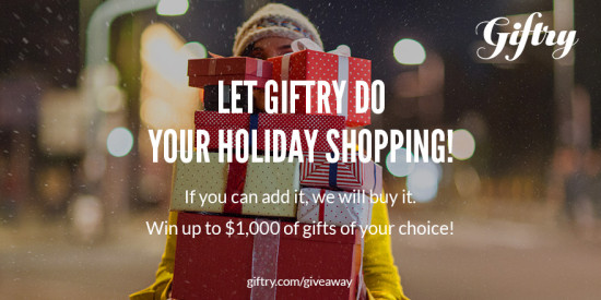 Giftry Holiday Giveaway