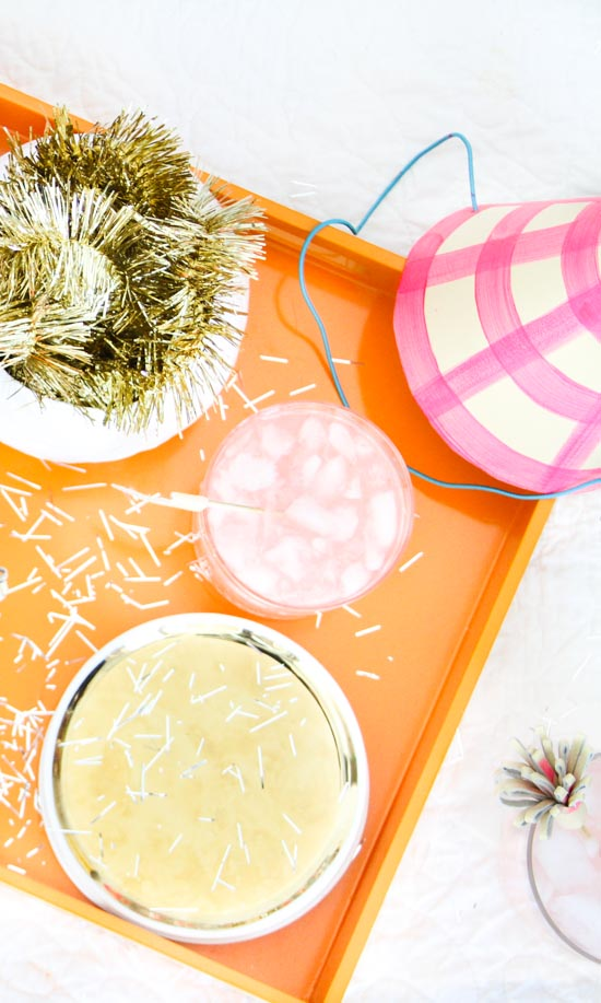 DIY Party Ideas for New Year's Eve