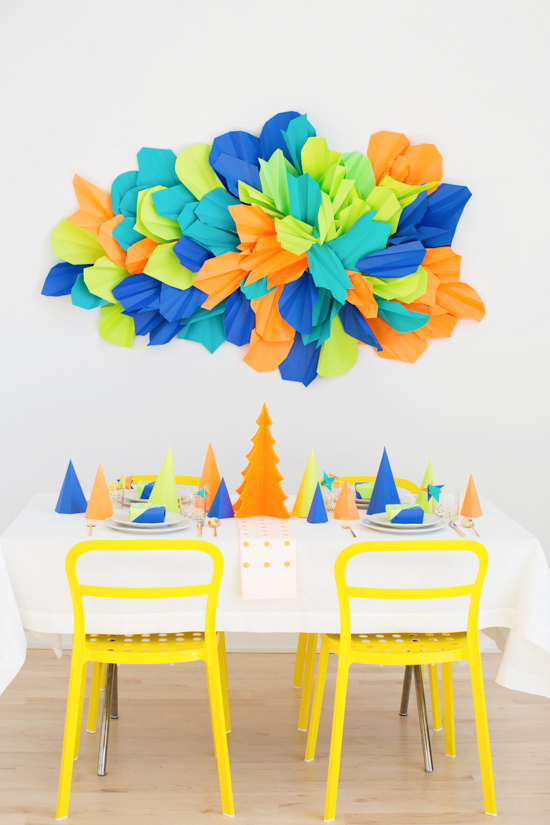 A Colorful (DIY) Christmas Party