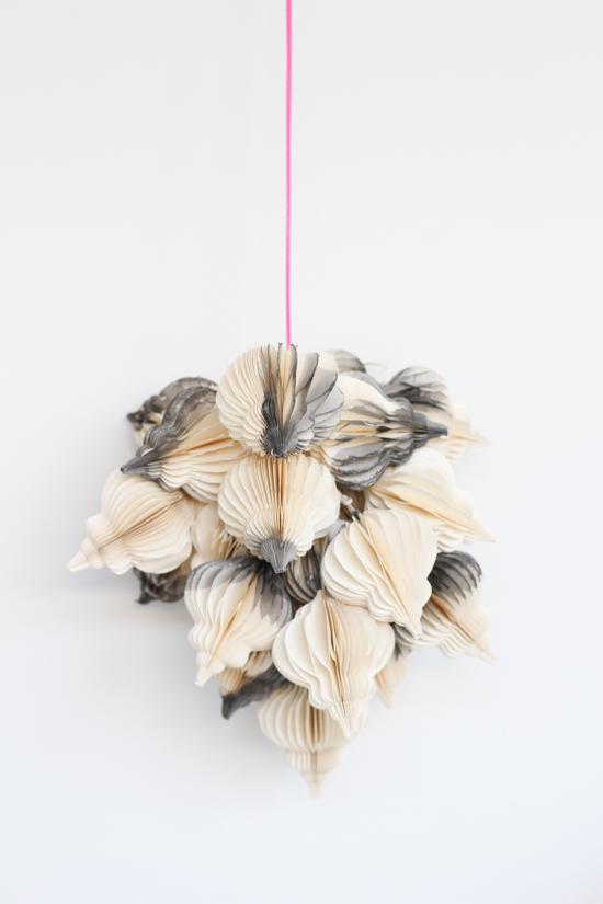 DIY // Modern Hanging Holiday Decor