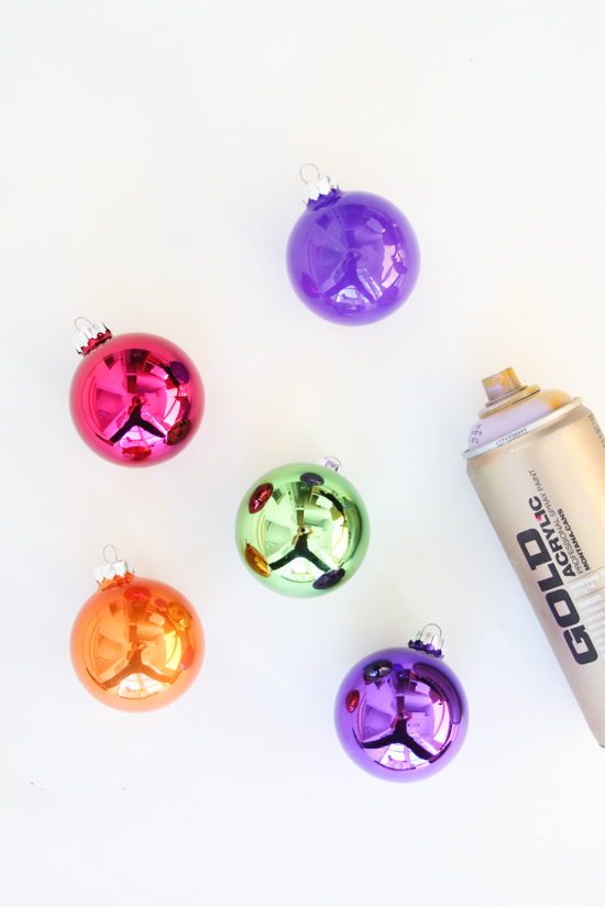 DIY Holiday Ornaments in Under an Hour