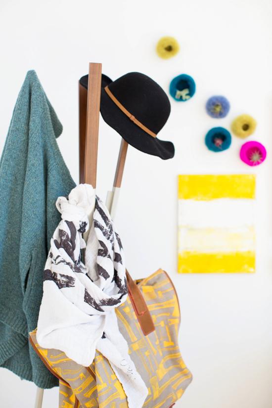 Cool coat rack