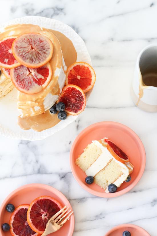Salted Dulce de Leche Cake