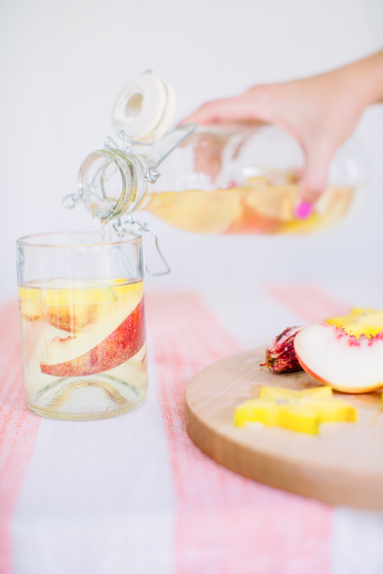 Fruity Sangria Blanca Cocktail Recipe