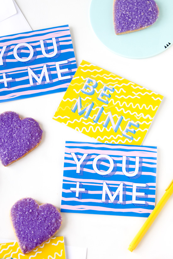 http://www.papernstitchblog.com/wp-content/uploads/2015/01/yellow-and-blue-printable-valentine-purple-heart-cookies.jpg