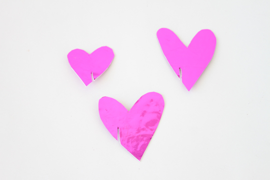 DIY // Mylar Heart Drink Toppers for Valentine's Day