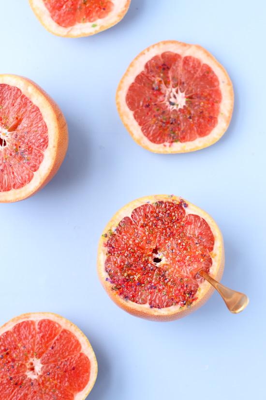 Sugared Grapefruit Breakfast