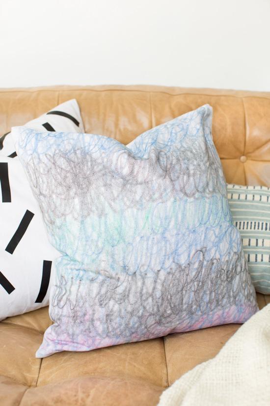 DIY Doodle Pillow