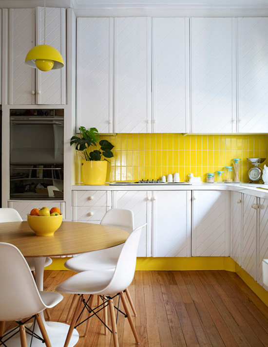Yellow 70s Kitchen