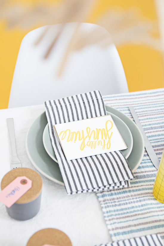 Hello Sunshine // Cheery Spring Party Ideas