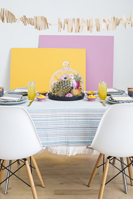 Colorful DIY Party Ideas for Spring and Summer