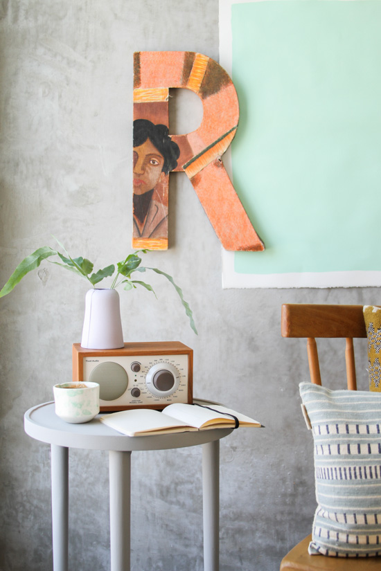 DIY Side Table Makeover Reveal