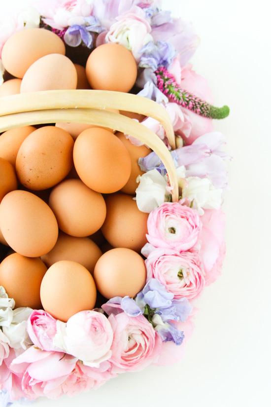 Easter Project // Fresh Flower Easter Basket DIY