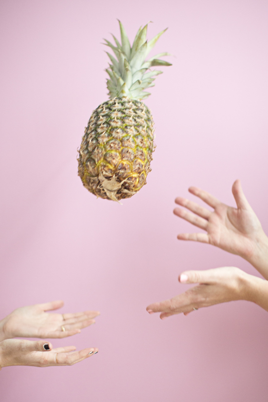 Pineapple Toss