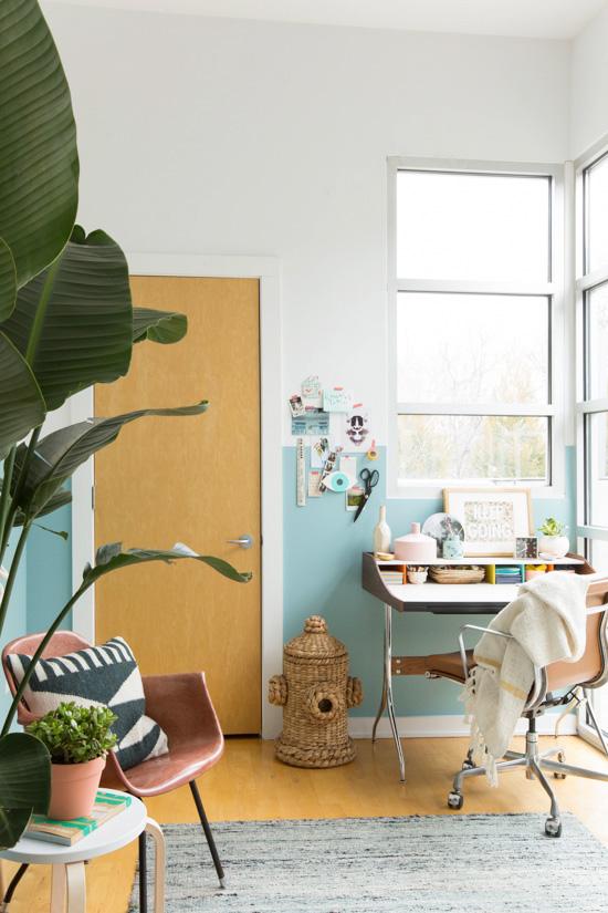 Modern Office Makeover