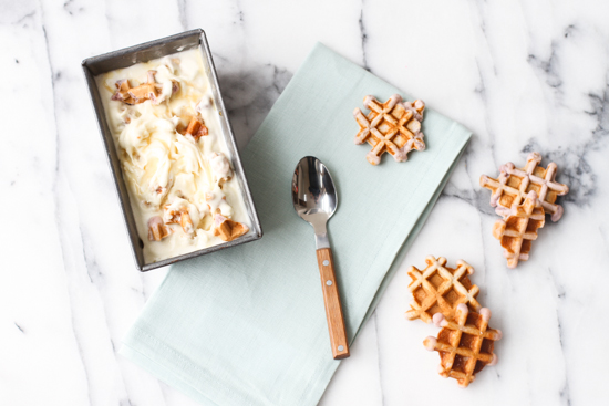 Ice Cream for Breakfast // Syrup and Waffles Ice Cream Recipe