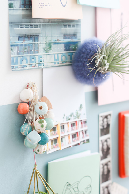 Pastel Inspiration Boards + 30 Second Hardware Store Hack