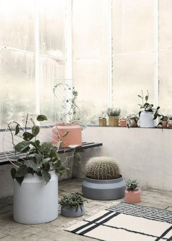 Pastel Planters